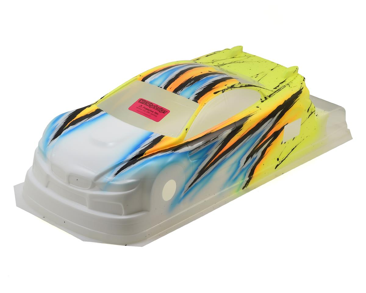 Bittydesign M410 1/10 Pre-Painted 190mm TC Body (Wave/Yellow)