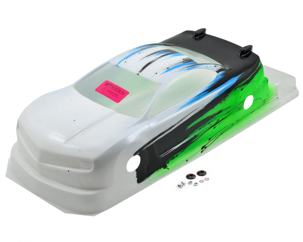 Bittydesign MC10 1/10 Pre-Painted 190mm TC Body (Speed) (Green)