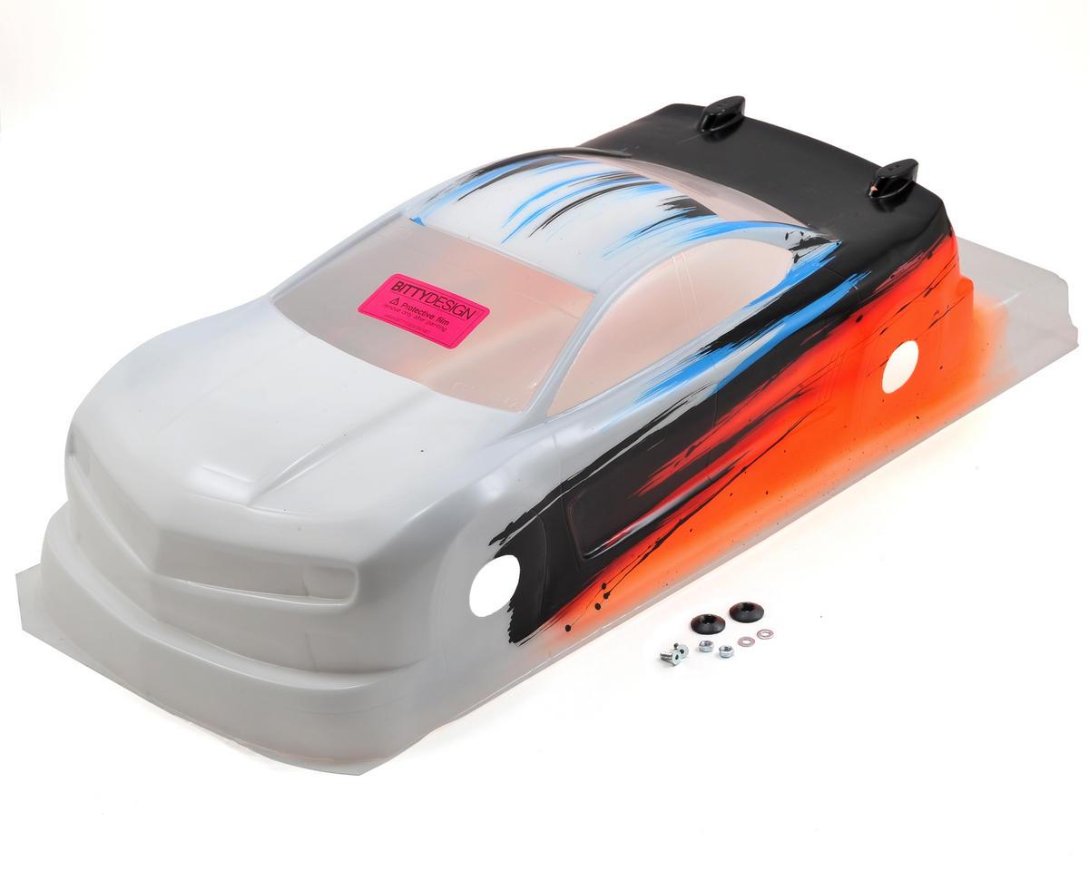 Bittydesign MC10 1/10 Pre-Painted 190mm TC Body (Speed) (Orange)