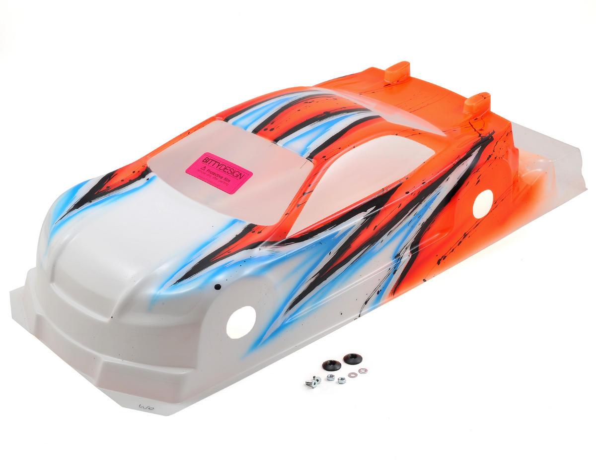 Bittydesign Striker-SR 3.0 1/10 Pre-Painted 190mm TC Body (Wave) (Orange)