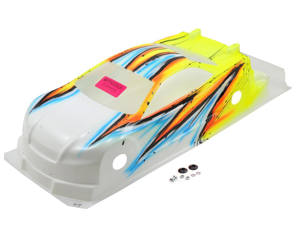 Bittydesign Striker-SR 3.0 1/10 Pre-Painted 190mm TC Body (Wave) (Yellow)
