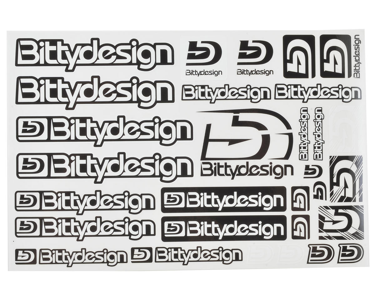 Bittydesign On-Road Fuel Proof Decal Sheet