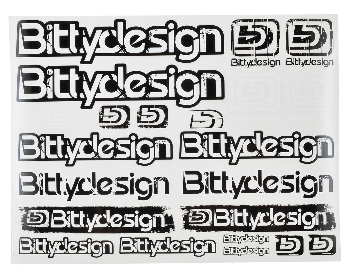 Bittydesign Off-Road Fuel Proof Decal Sheet