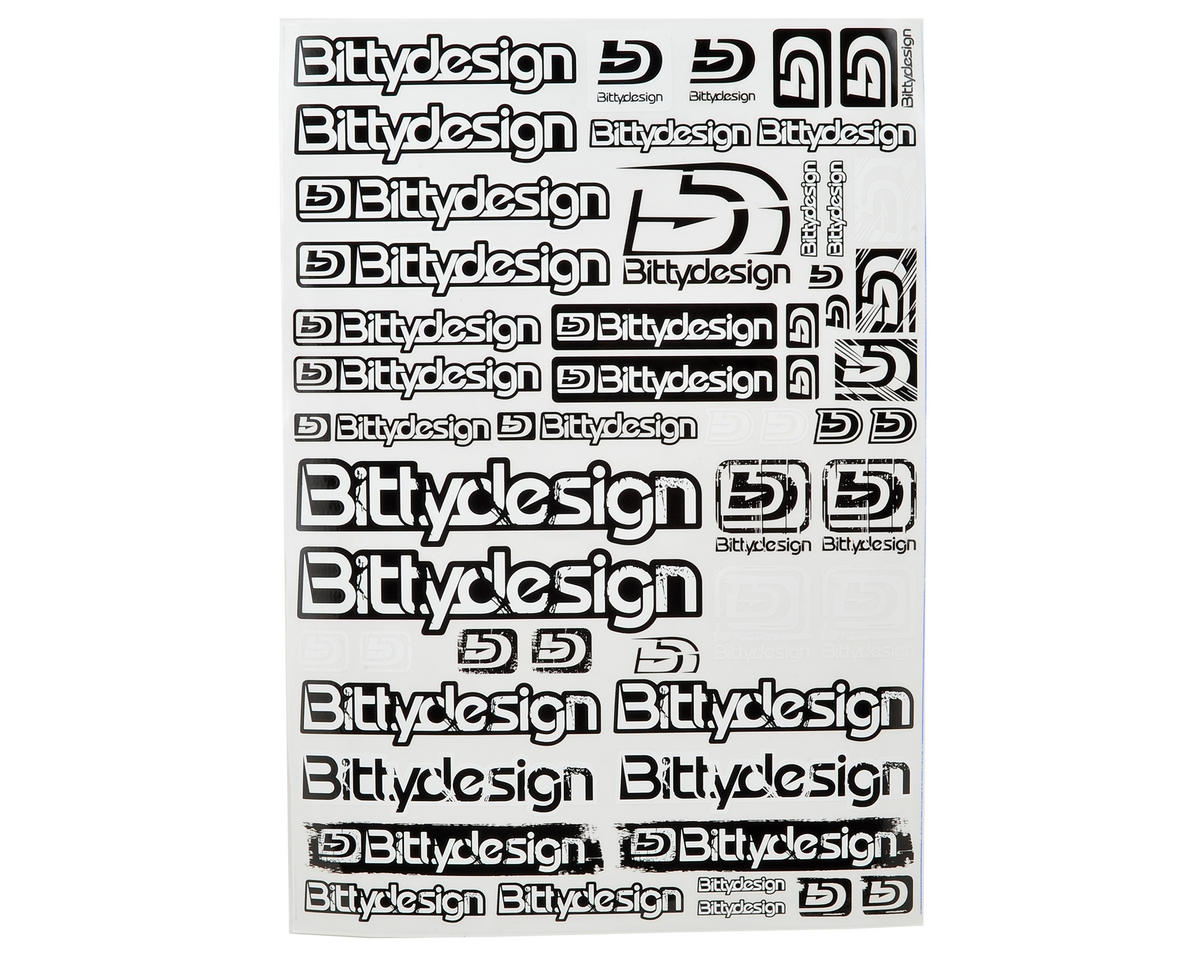 Bittydesign Big Size Fuel Proof Decal Sheet