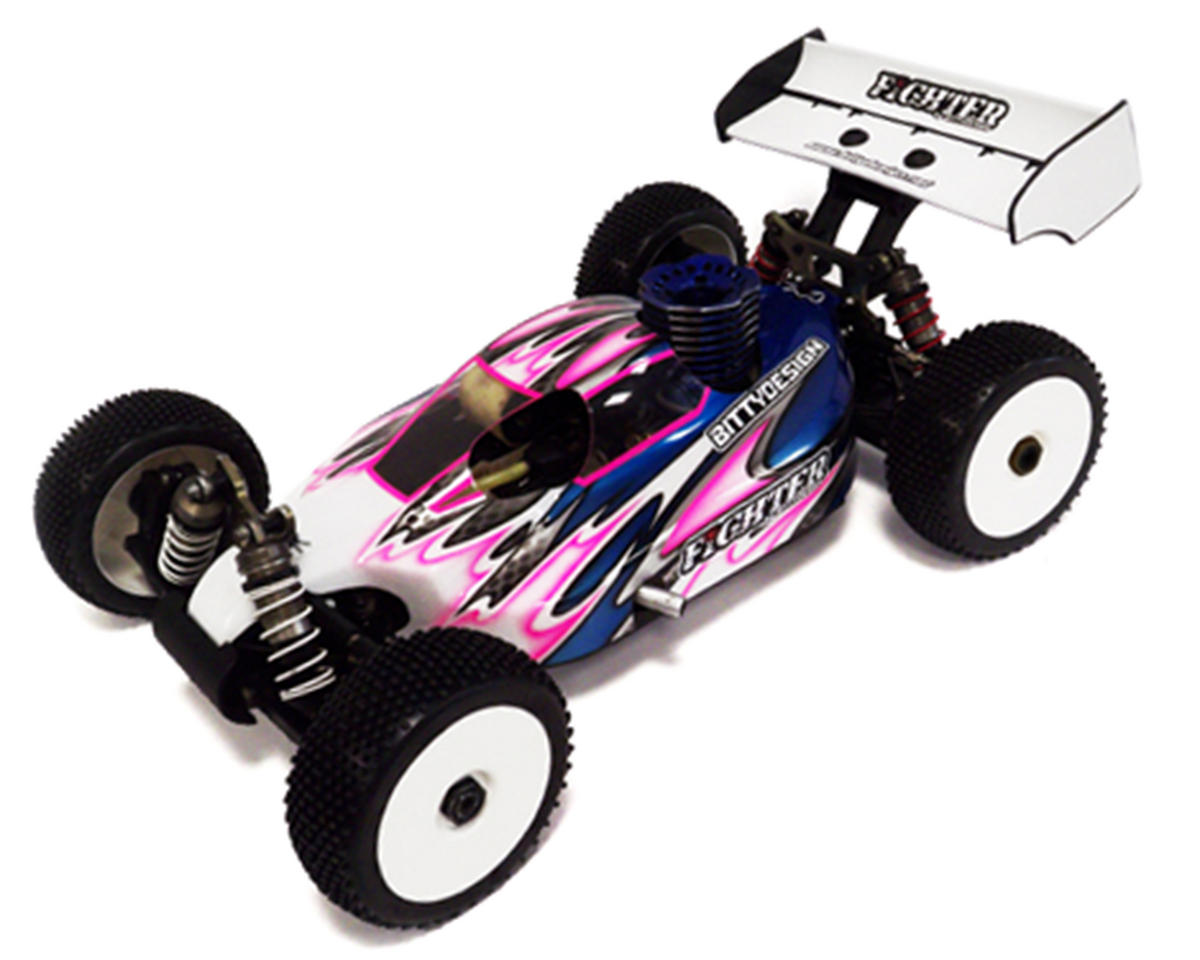 "Bittydesign ""Fighter"" Hot Bodies D8 1/8 Buggy Body (Clear)"