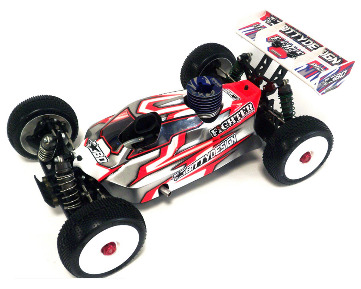 "Bittydesign ""Fighter"" TLR 8IGHT 2.0 EU 1/8 Buggy Body (Clear)"