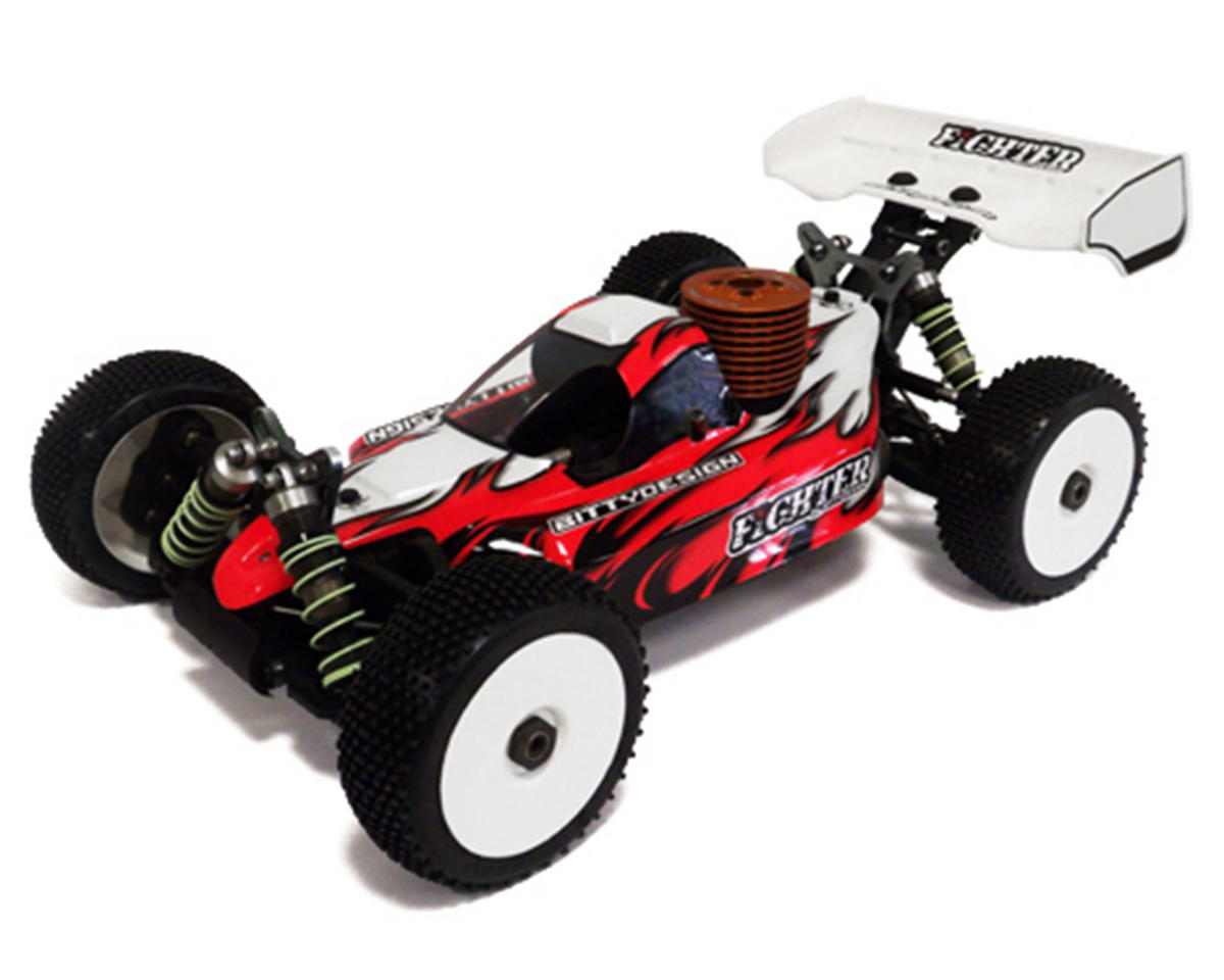 "Bittydesign ""Fighter"" Mugen MBX6 1/8 Buggy Body (Clear)"