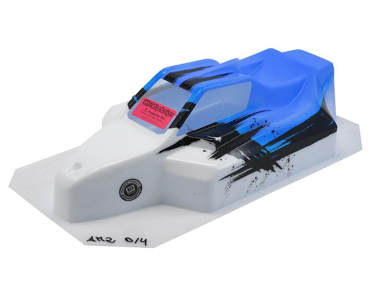 "Bittydesign ""Force"" Associated RC8B3/B3.1 Pre-Painted Buggy Body (Dirt/Blue)"