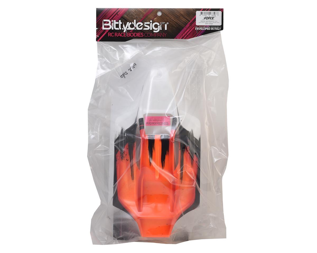 "Bittydesign ""Force"" Associated RC8B3/B3.1 Pre-Painted Buggy Body (Dirt/Orange)"