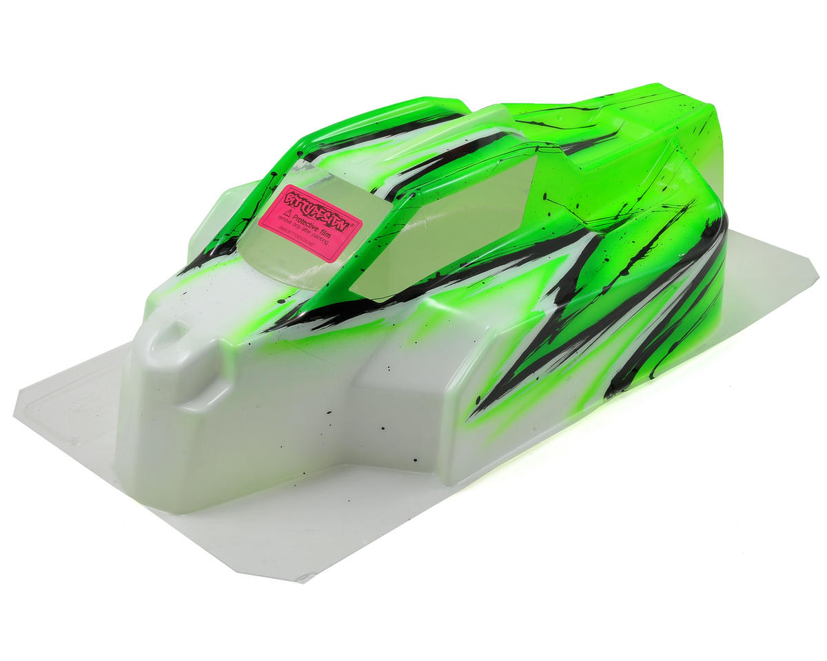 Bittydesign Force D815/D812 1/8 Painted Buggy Body (Wave) (Green)