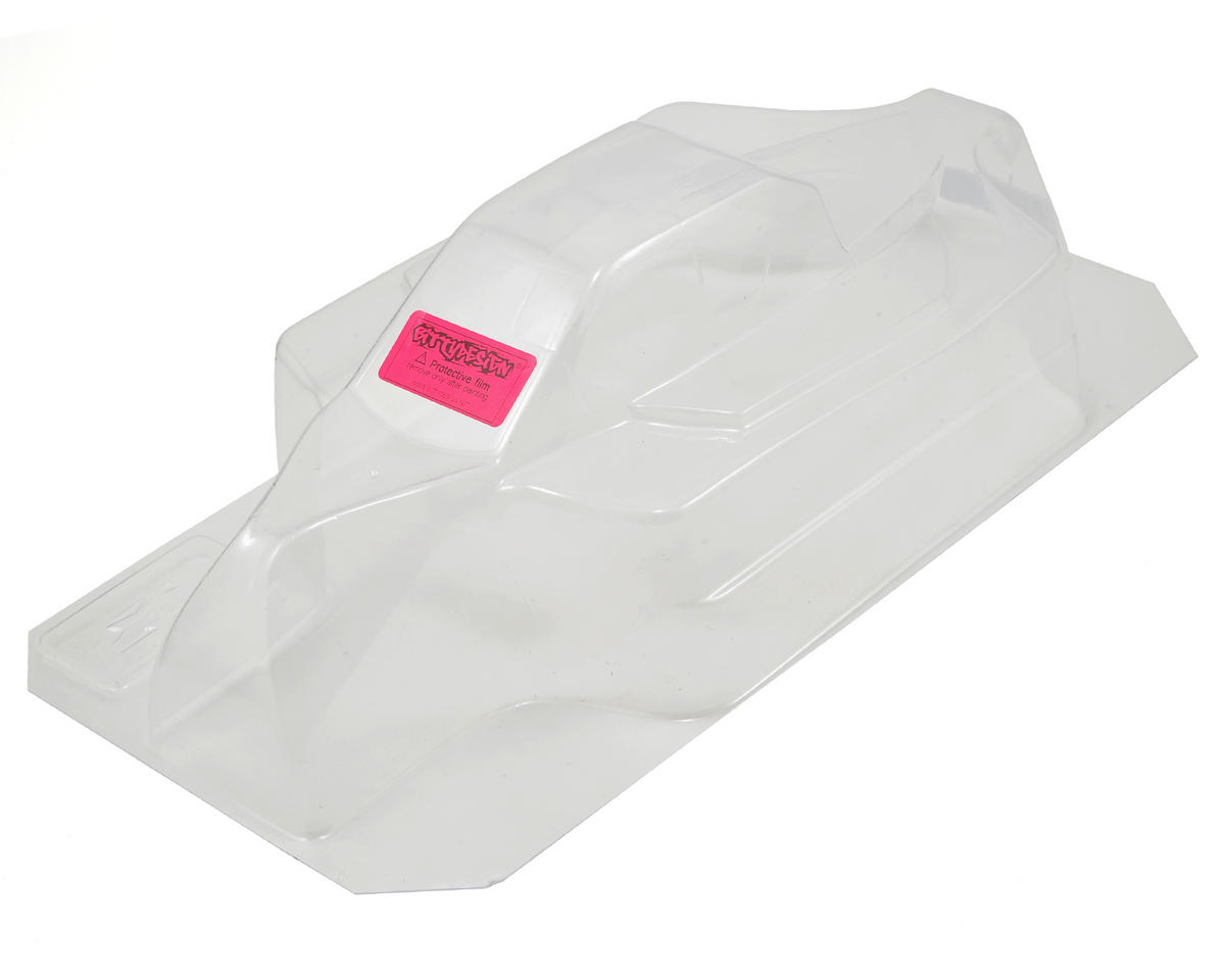 "Bittydesign ""Force"" JQ THE Car White Edition 1/8 Buggy Body (Clear) (JQ Products (White))"