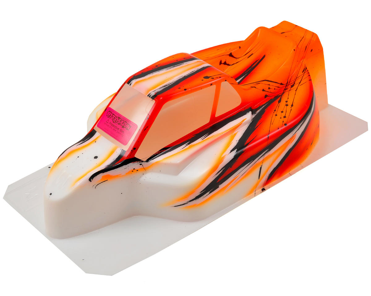 """Force"" Kyosho MP9 TKI2/3/4 1/8 Pre-Painted Buggy Body (Wave/Orange) by Bittydesign"