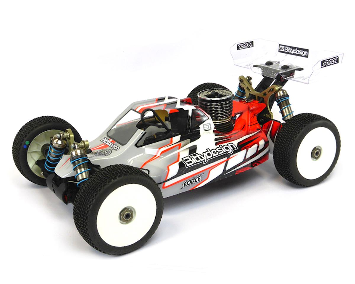 "Bittydesign ""Force"" Kyosho MP9 TKI4 1/8 Buggy Body (Clear)"