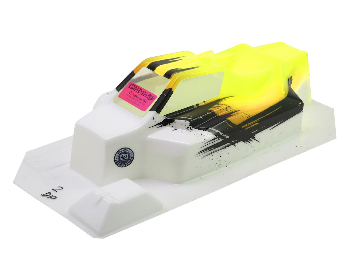 """Bittydesign """"Force"""" TLR 8ight 4.0 1/8 Pre-Painted Buggy Body (Dirt/Yellow)"""