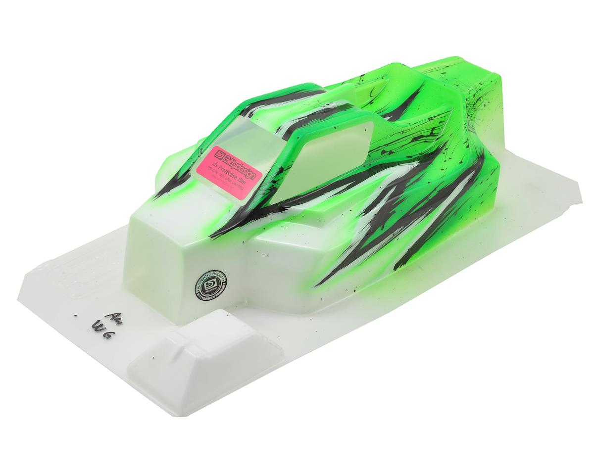"Bittydesign ""Force"" TLR 8ight 4.0 1/8 Pre-Painted Buggy Body (Wave/Green)"