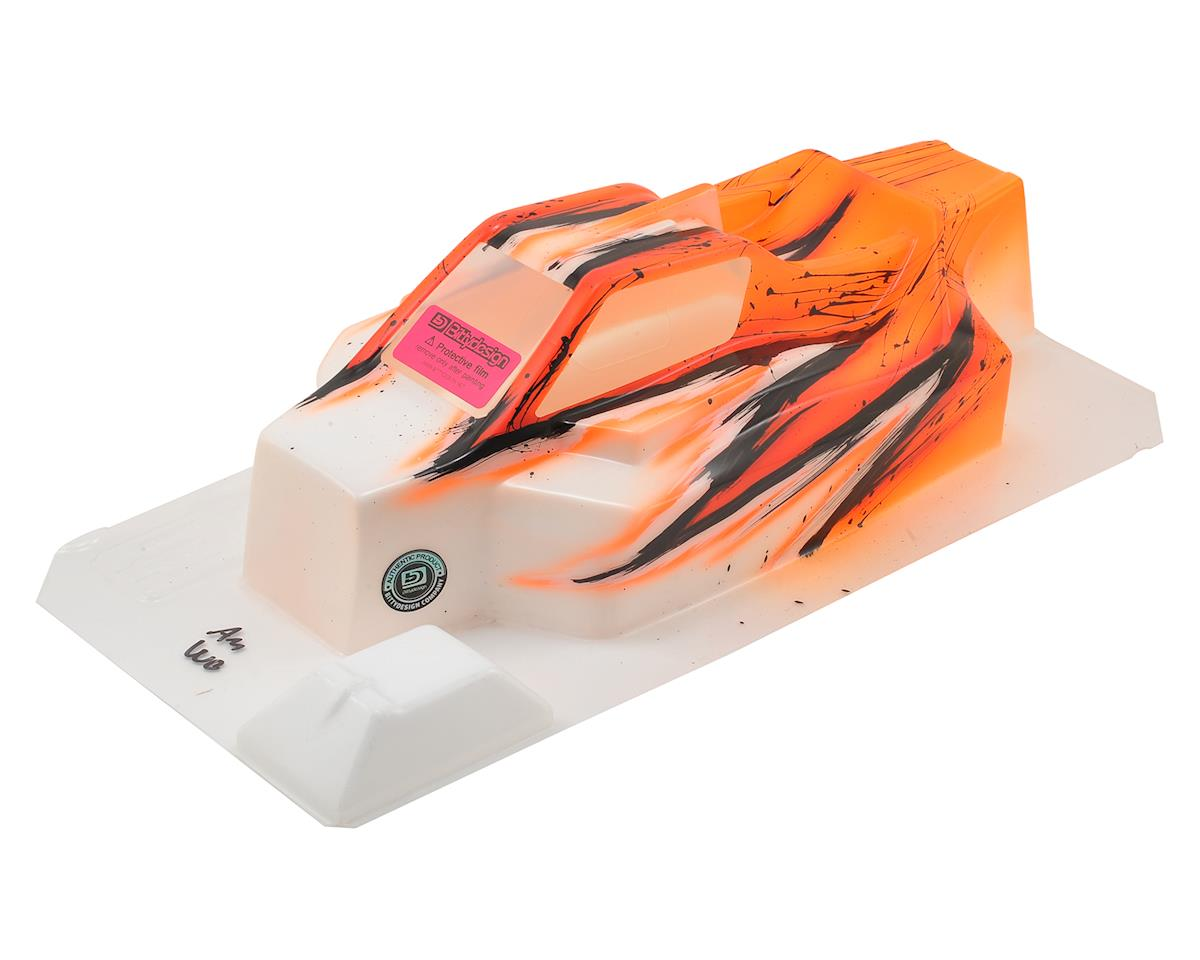 """Bittydesign """"Force"""" TLR 8ight 4.0 1/8 Pre-Painted Buggy Body (Wave/Orange)"""