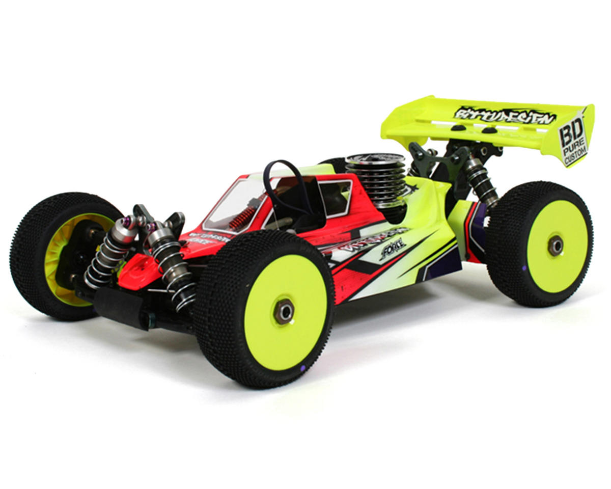 "Bittydesign ""Force"" Mugen MBX7 1/8 Buggy Body (Clear)"