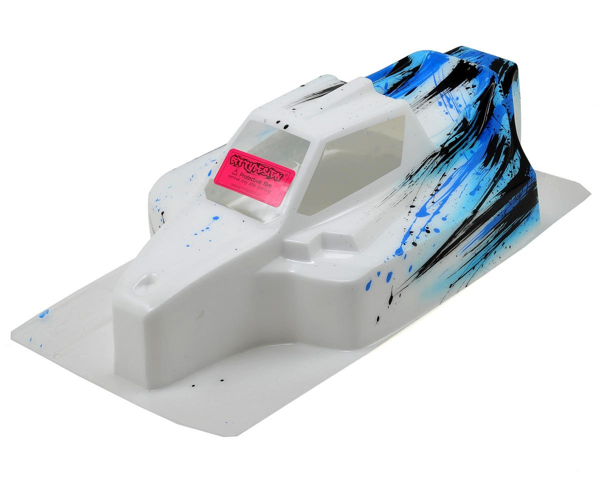 "Bittydesign ""Force"" Mugen MBX7 1/8 Pre-Painted Buggy Body (Grunge) (Blue) (S-Workz Racing S350 BK1)"