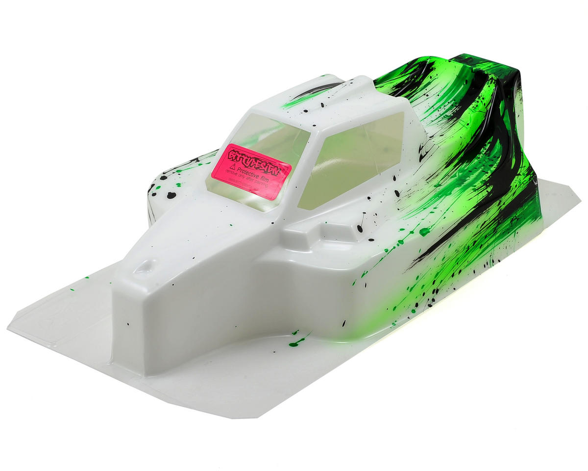 "Bittydesign ""Force"" Mugen MBX7 1/8 Pre-Painted Buggy Body (Grunge) (Green)"