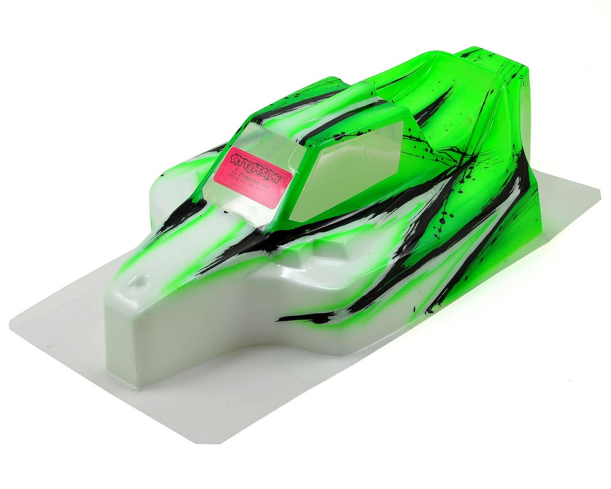 "Bittydesign ""Force"" Mugen MBX8/MBX7 1/8 Pre-Painted Buggy Body (Wave) (Green)"