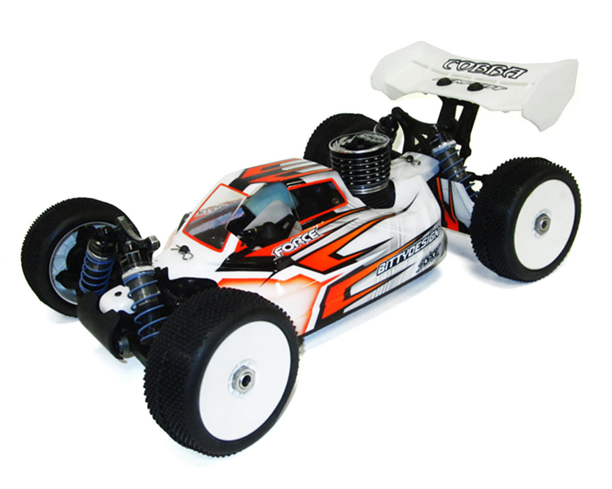 "Bittydesign ""Force"" Serpent Cobra S811 1/8 Buggy Body (Clear)"