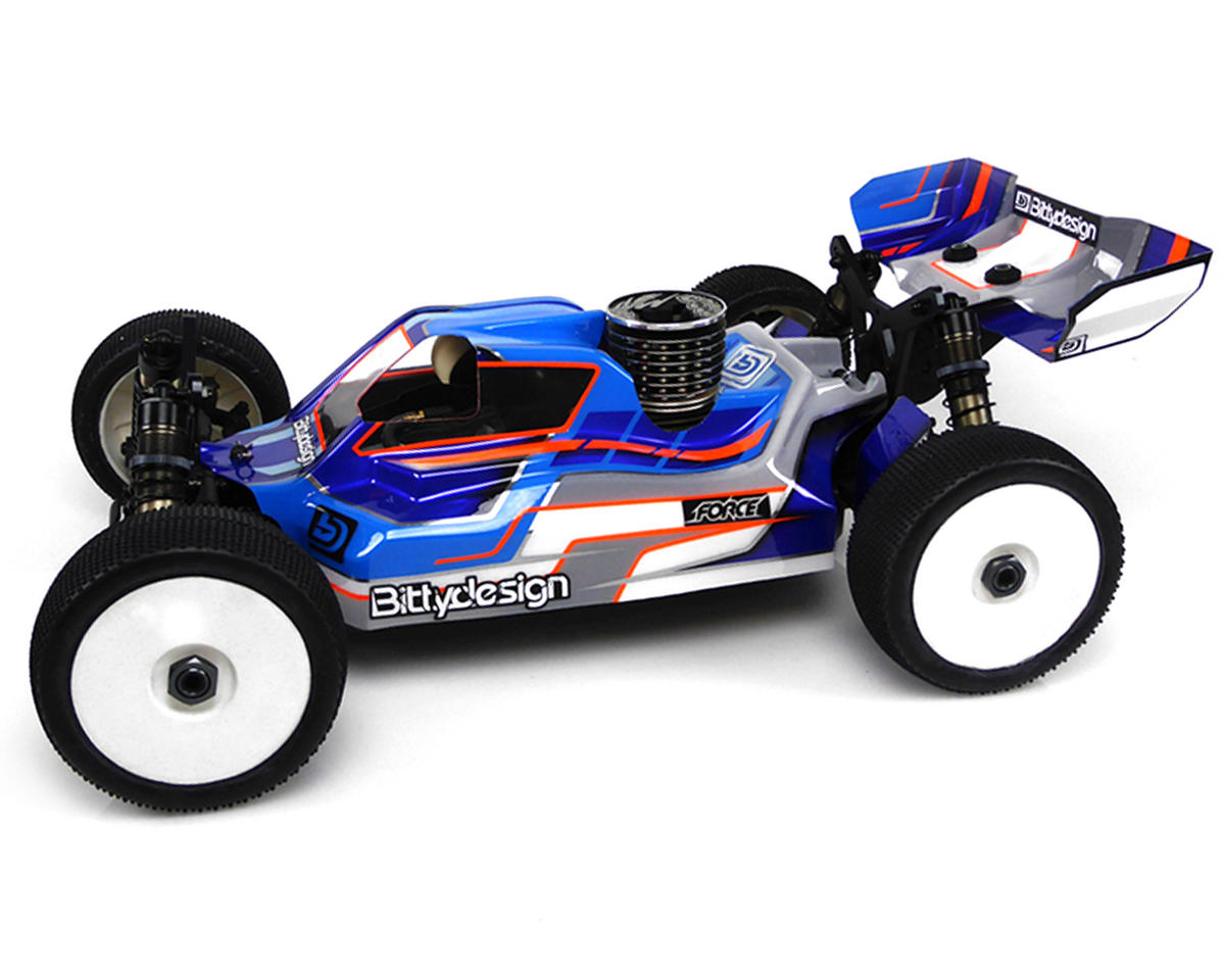 "Bittydesign ""Force"" Tekno NB48.3 1/8 Buggy Body (Clear)"
