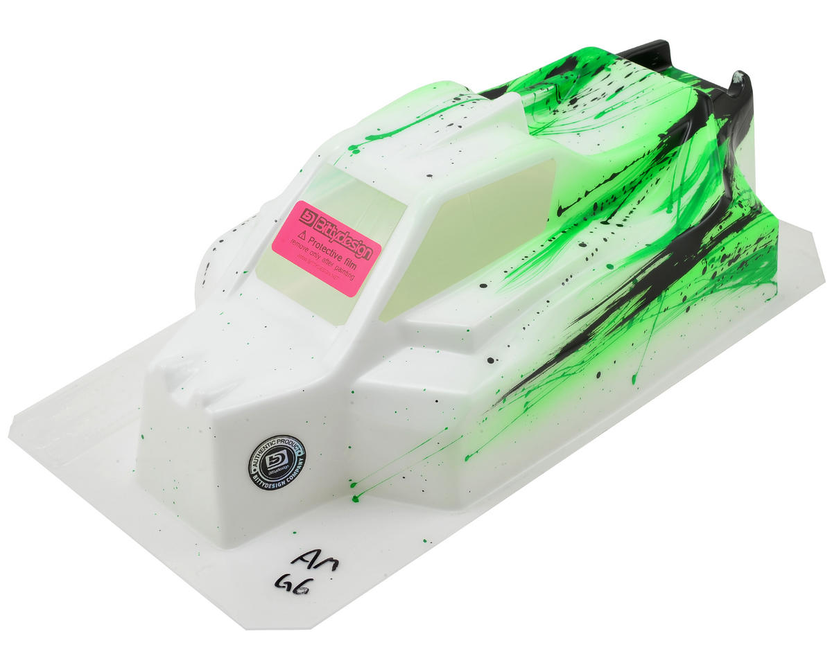 Bittydesign Force Tekno NB48.3/NB48.4 1/8 Pre-Painted Buggy Body (Grunge/Green)