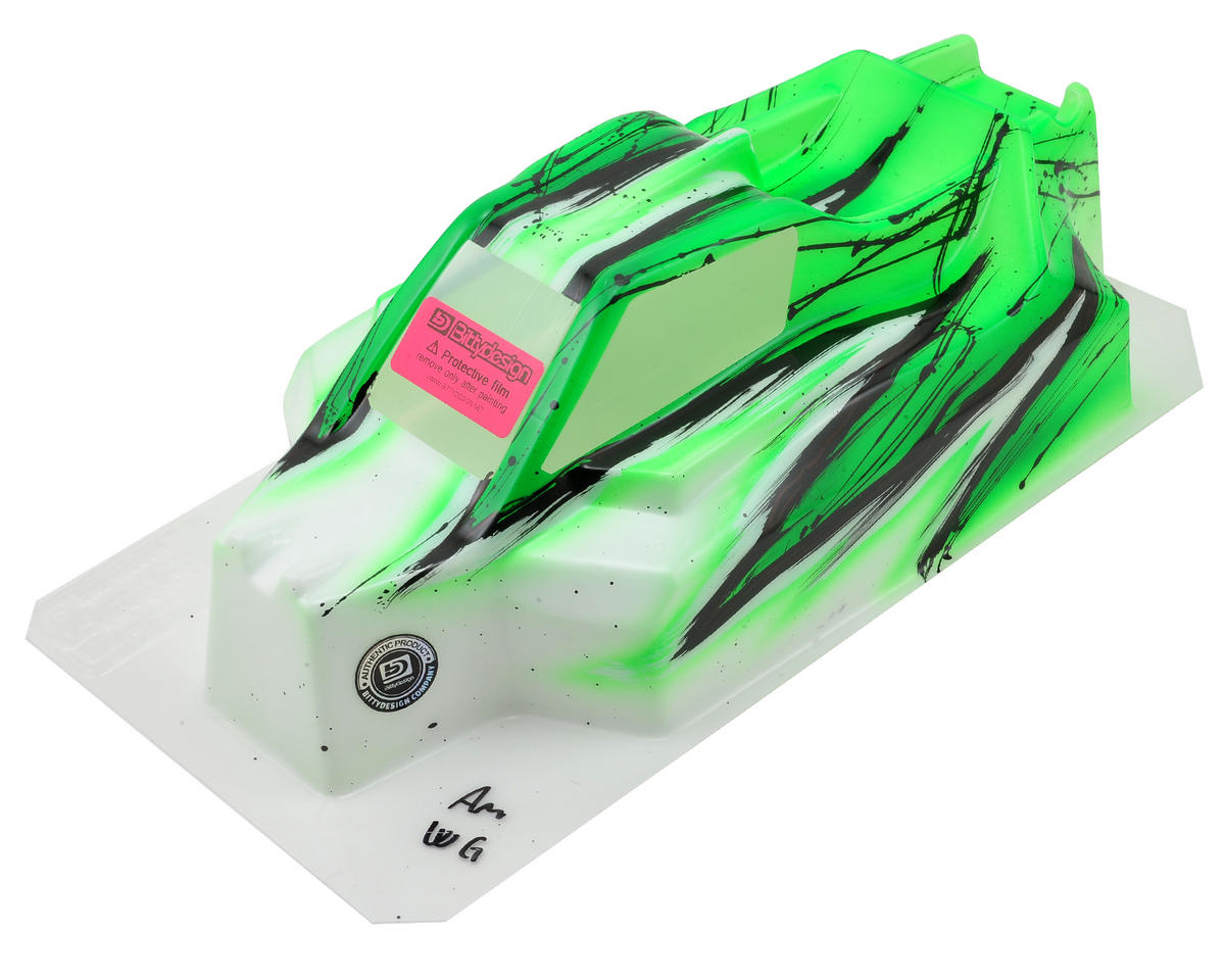 "Bittydesign ""Force"" Tekno NB48.3 1/8 Pre-Painted Buggy Body (Wave/Green)"
