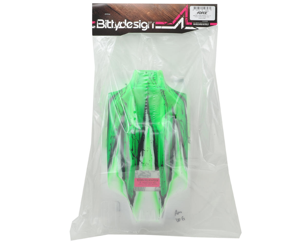 "Bittydesign ""Force"" Tekno NB48.3/NB48.4 1/8 Pre-Painted Buggy Body (Wave/Green)"