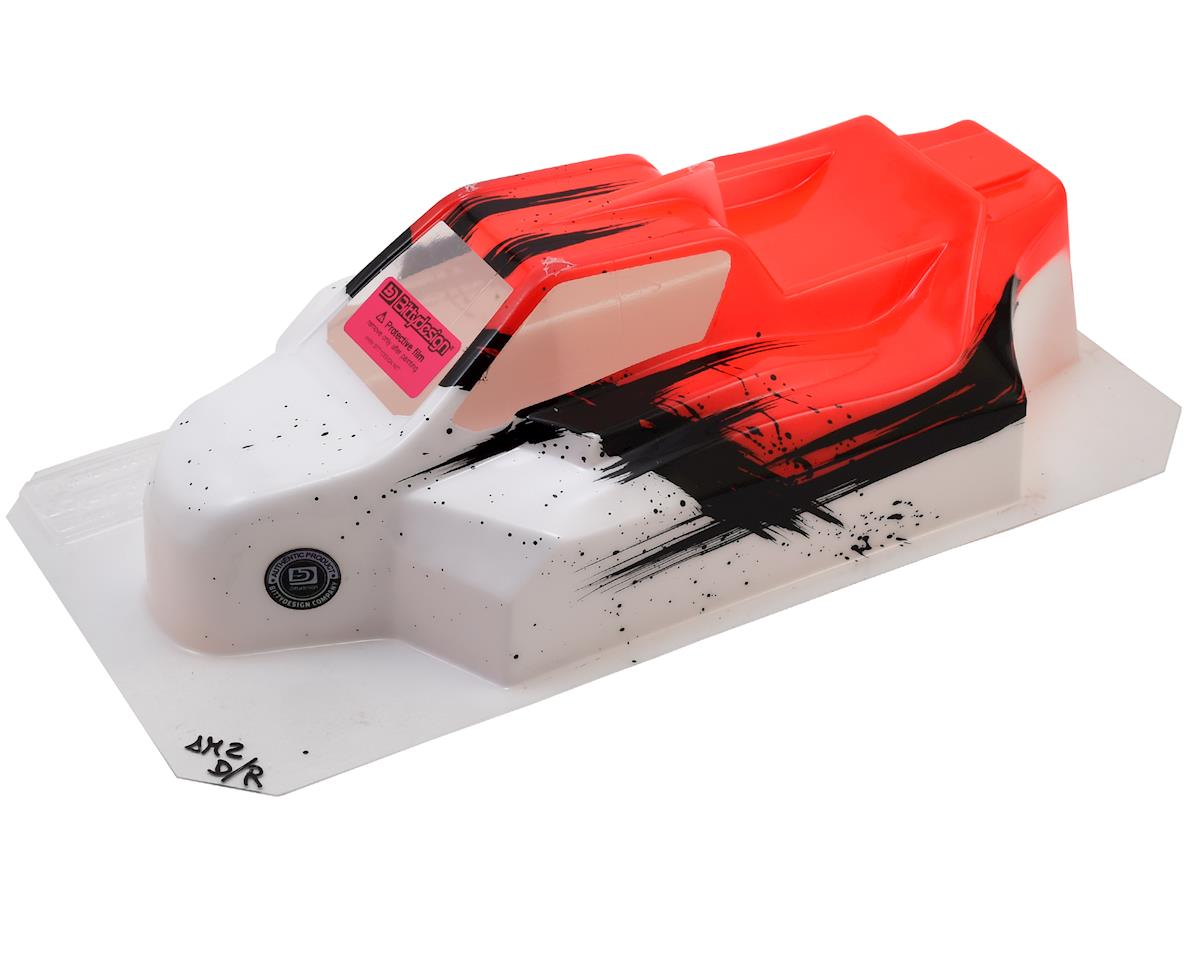 "Bittydesign ""Force"" XRAY XB8 1/8 Pre-Painted Buggy Body (Dirt/Red)"