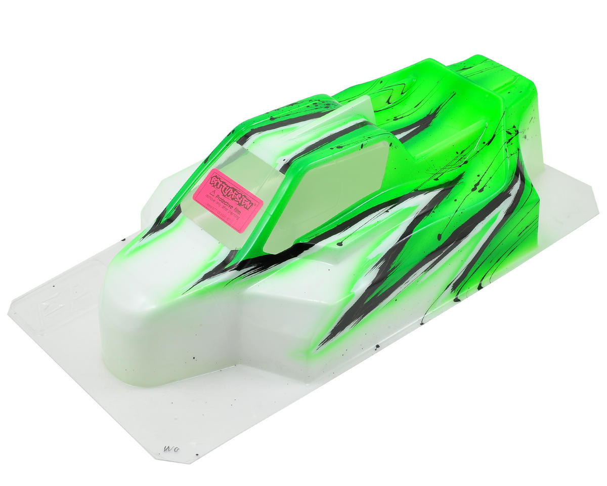 """Force"" XRAY XB8 1/8 Pre-Painted Buggy Body (Wave) (Green) by Bittydesign"