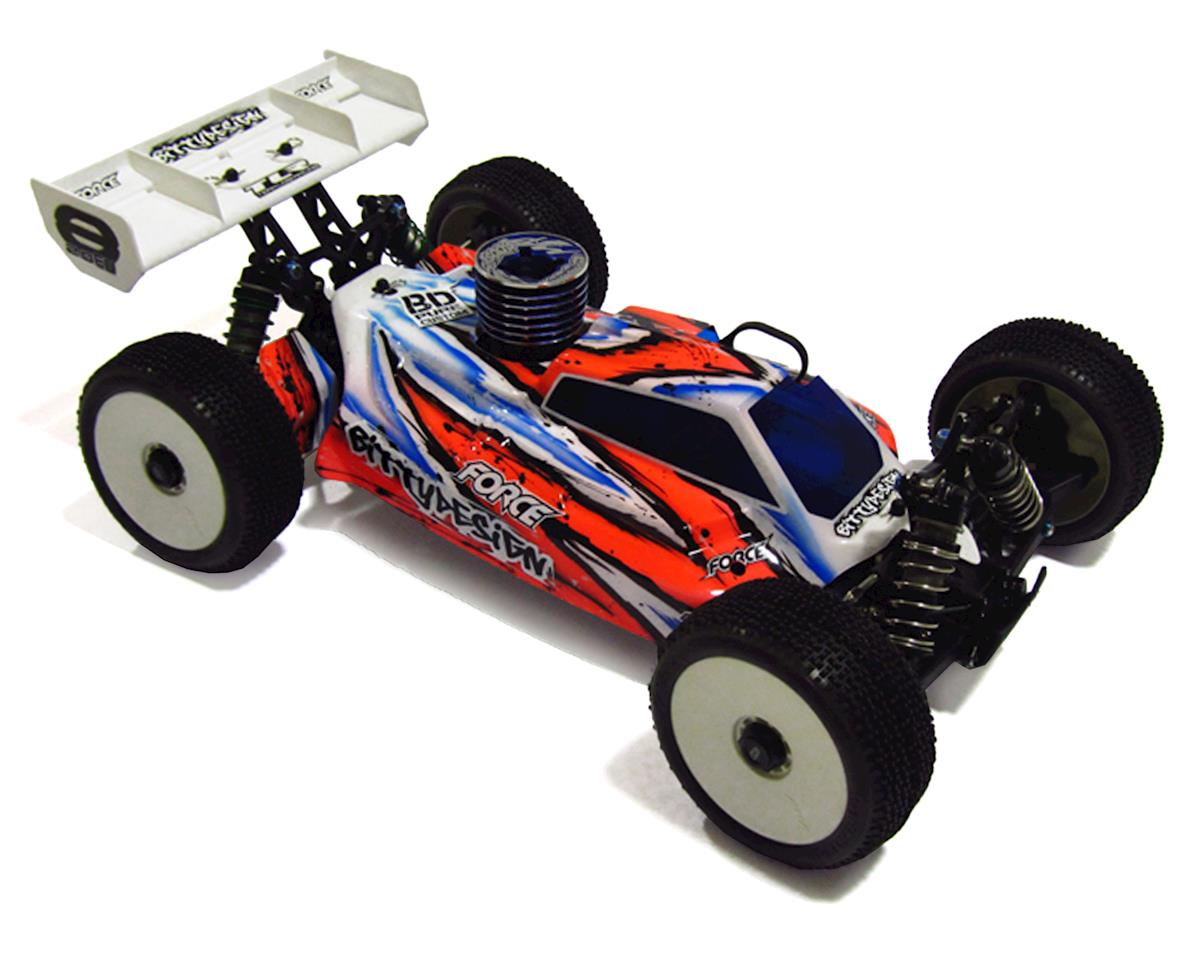 "Bittydesign ""Force 2.0"" TLR 8IGHT 2.0/3.0 1/8 Buggy Body (Clear)"