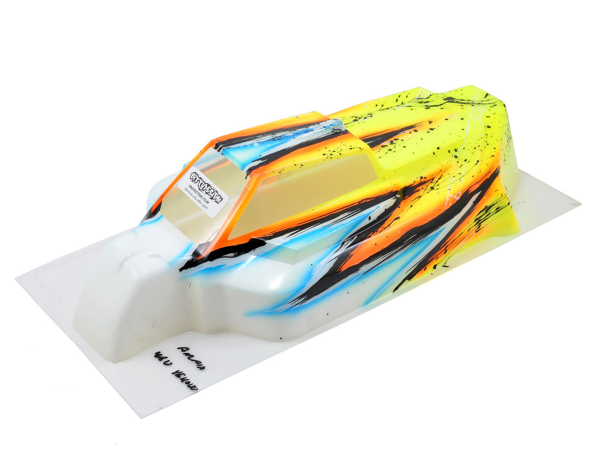 Bittydesign Force 2.0 8IGHT 2.0/3.0 1/8 Painted Buggy Body (Wave/Yellow)