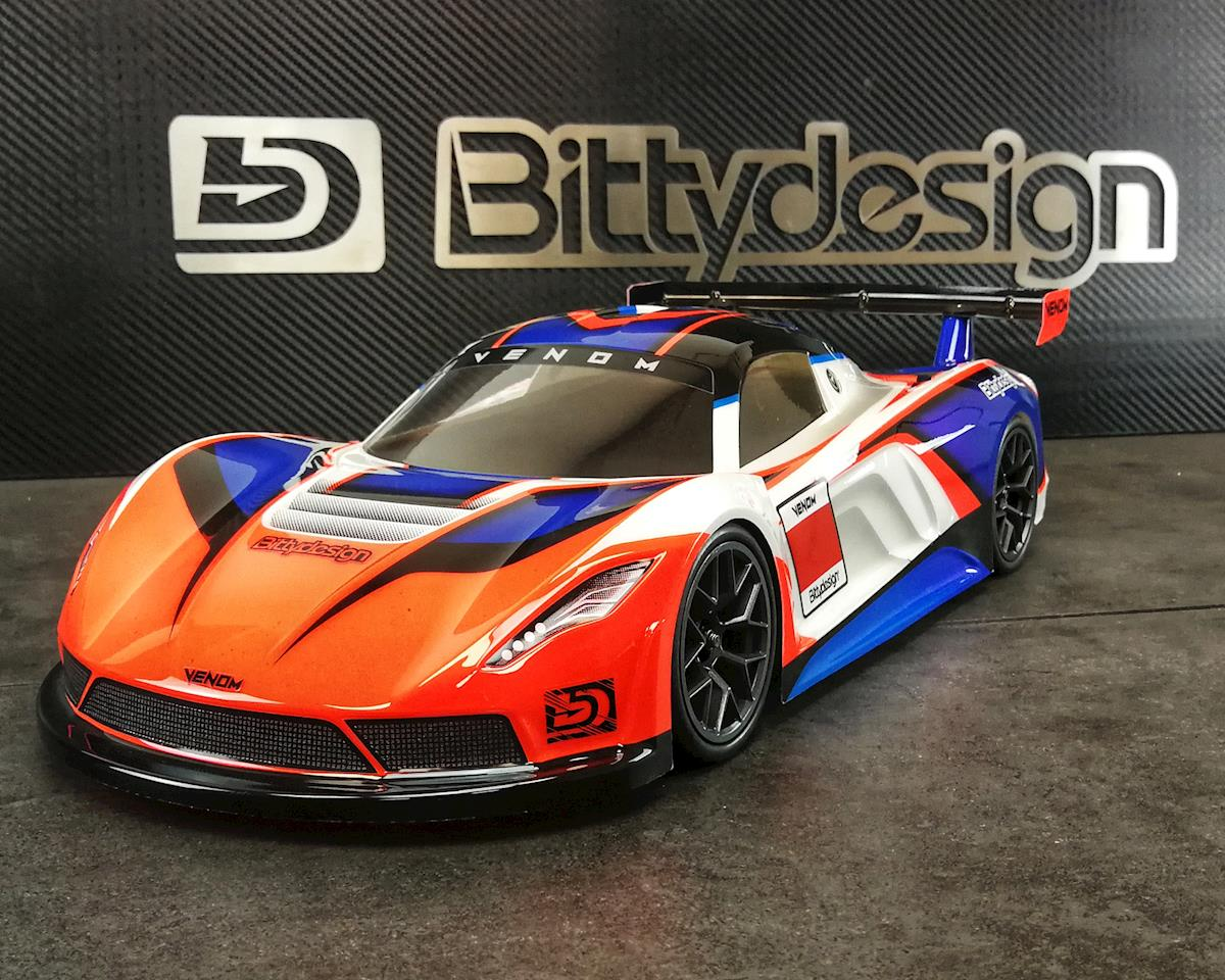 Bittydesign Venom 1/10 GT Body (Clear) (190mm)