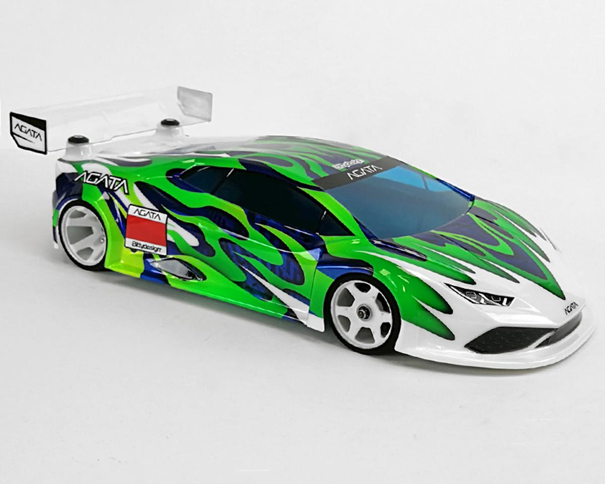 Bittydesign Agata GT12 1/12 On-Road Body (Clear) (SupaStox Class)
