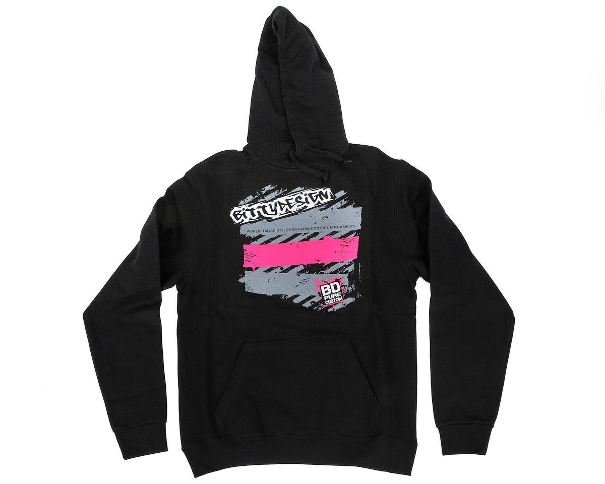 """Bittydesign """"Skratch"""" Black 2013 Collection Hoodie (Medium)"""