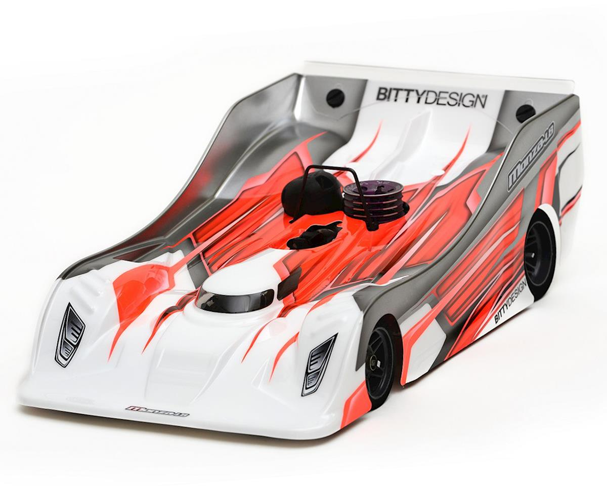 Bittydesign Monza-L8 Cut 1/8 On-Road Body (Clear) (MRX-5/WC) (Lightweight)