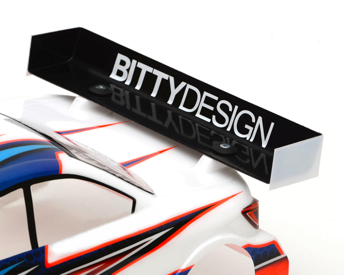 "Bittydesign 1mm Hard ""Charge"" Touring Car Wing (190mm)"