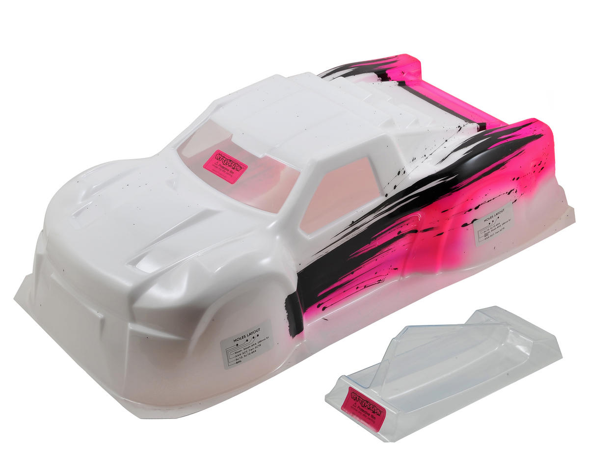 "Bittydesign ""Black Hawk"" 1/10 Pre-Painted Short Course Body (Cross/Pink) (Losi XXX-SCT)"