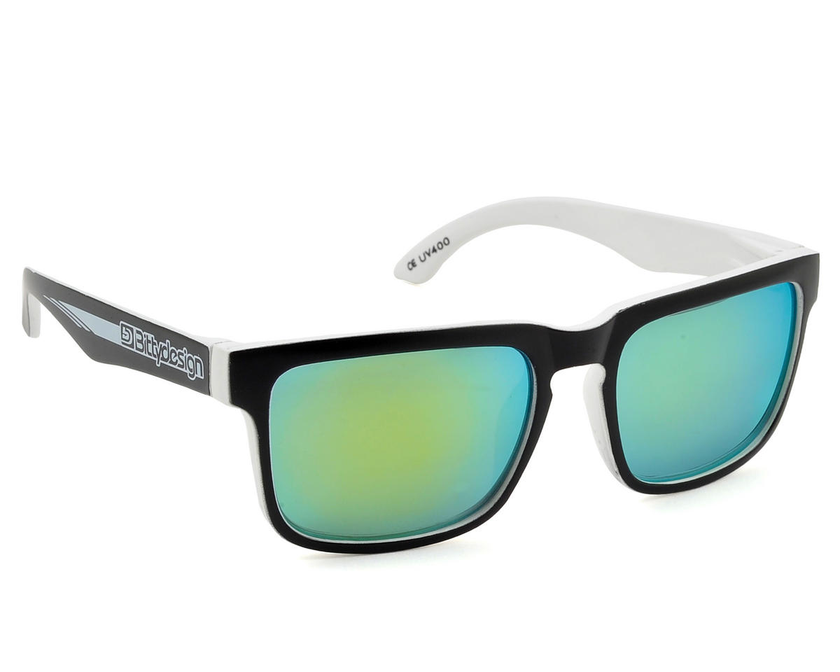 "Claymore Collection Sunglasses (White ""Race"") by Bittydesign"