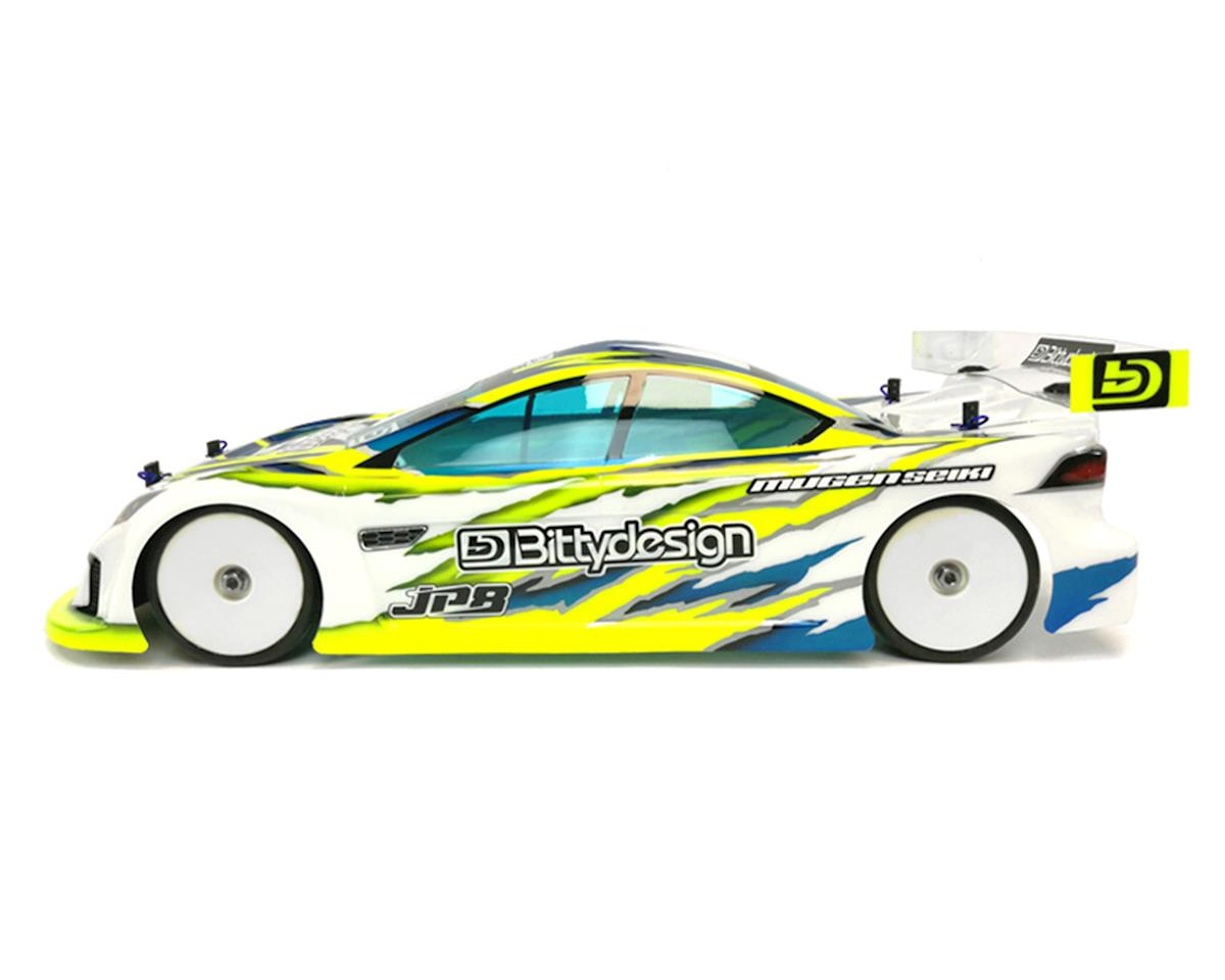 Bittydesign JP8 Pre-Cut 1/10 Touring Car Body (Clear) (Associated TC7.1/7.2)
