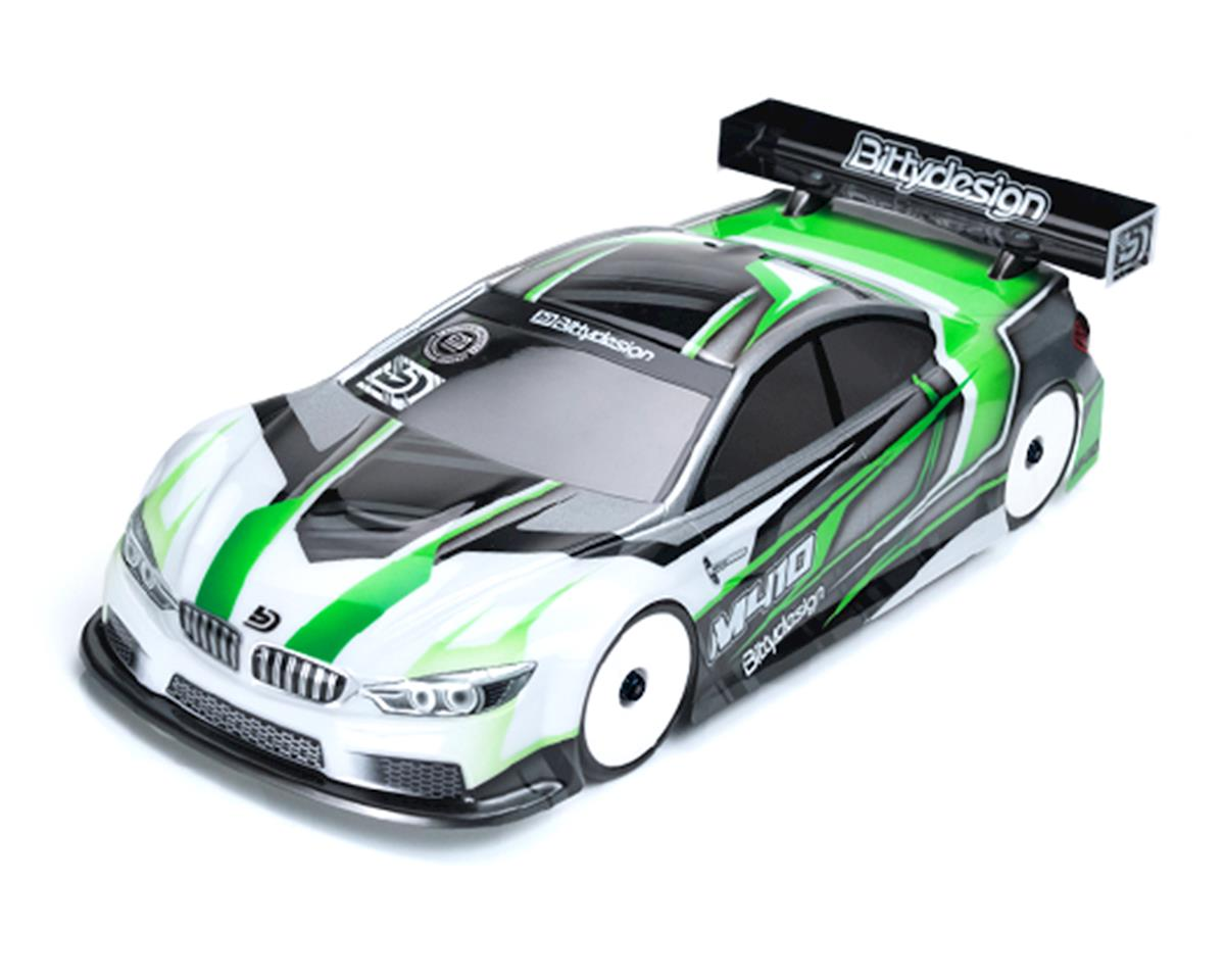 Bittydesign M410 Pre-Cut 1/10 Touring Car Body (190mm) (Light Weight) (Mi6)