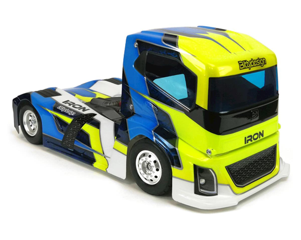 Bittydesign Iron 1/10 Truck Body (Clear) (190mm)