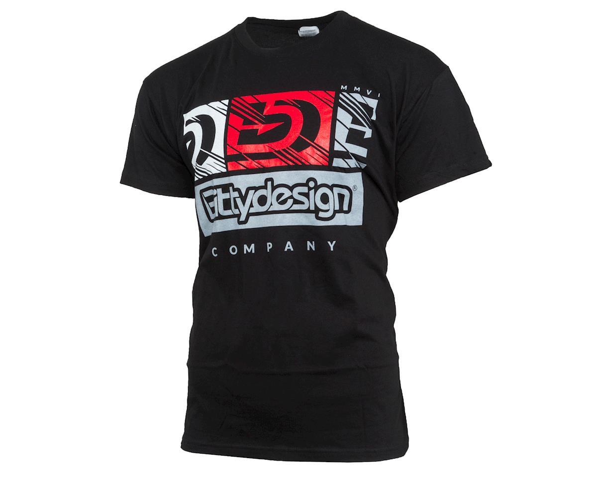V2 Factory T-Shirt (Black) (2XL) by Bittydesign