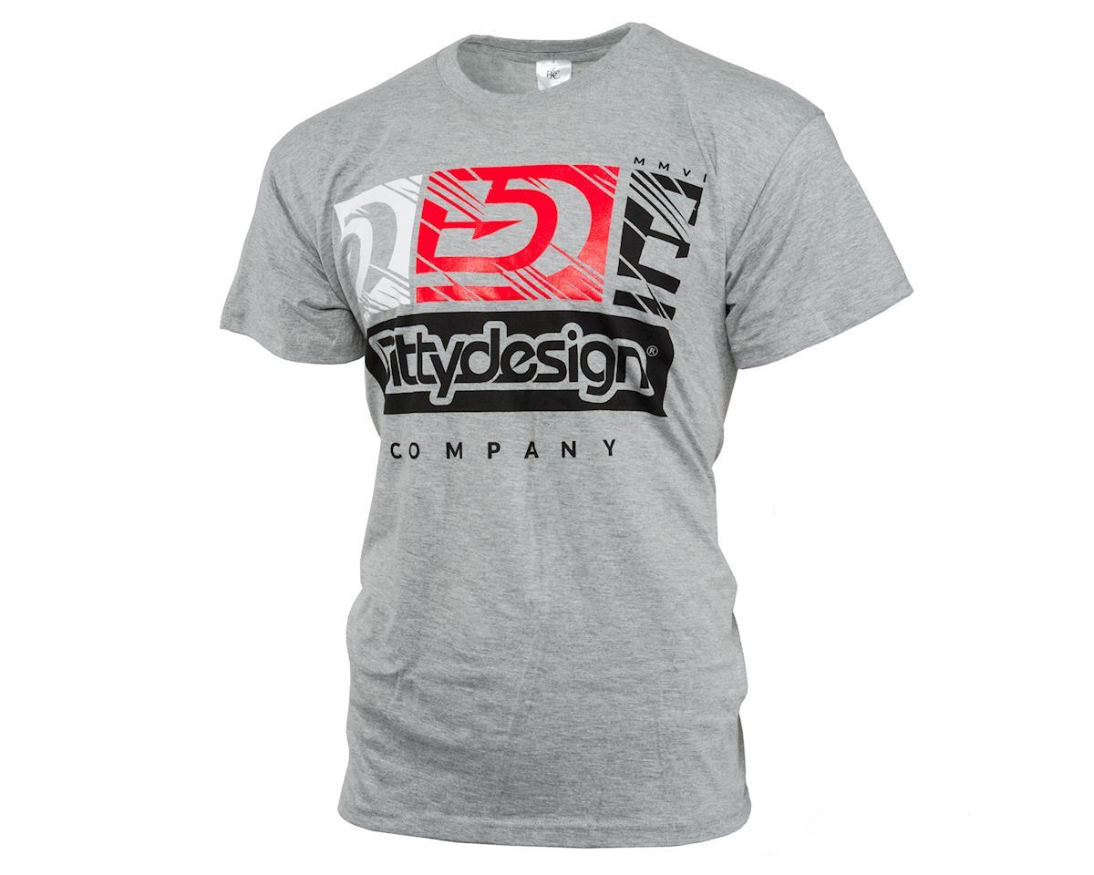 Bittydesign V2 Factory T-Shirt (Grey) (XL)
