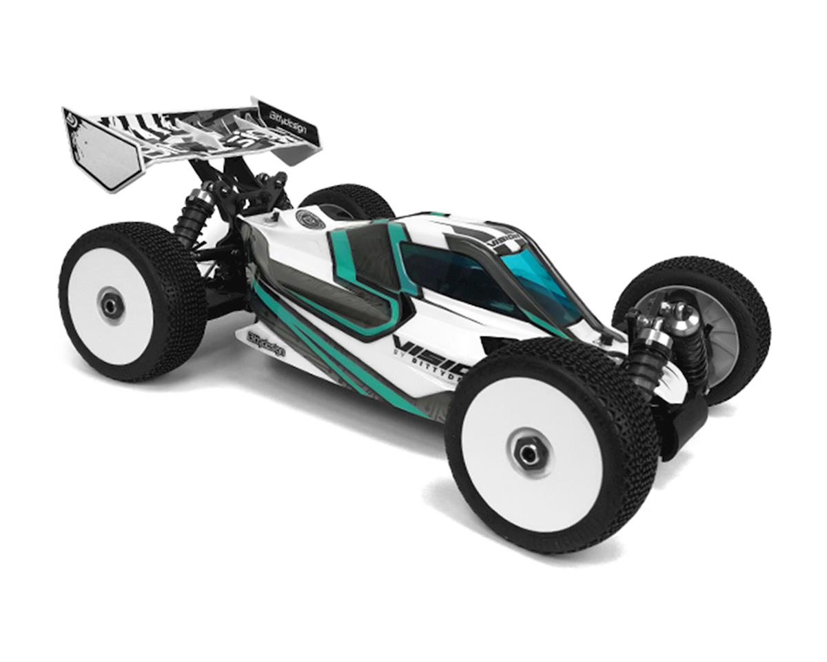Bittydesign Vision Pre-Cut Mugen MBX8 ECO 1/8 Electric Buggy Body (Clear)
