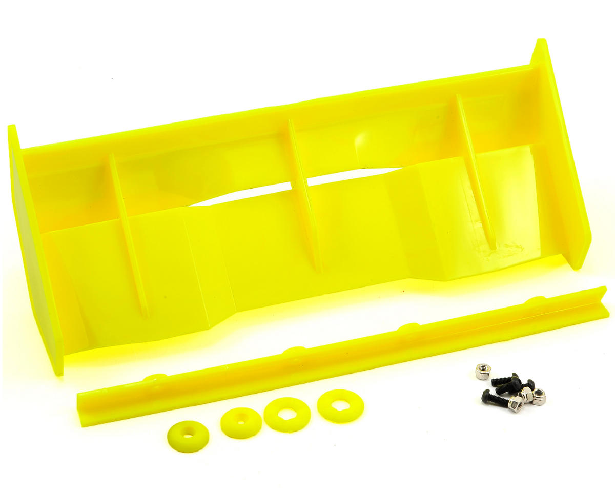 "Bittydesign ""Stealth"" 1/8 Buggy & Truggy Wing Kit (Yellow) (Hot Bodies Ve8)"