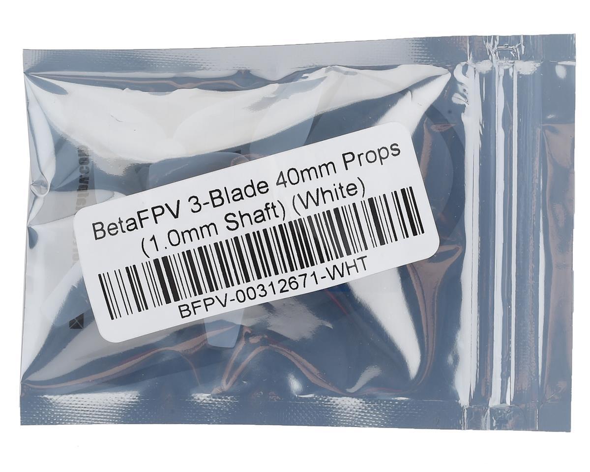 BetaFPV 3-Blade 40mm Props (1.0mm Shaft) (White)