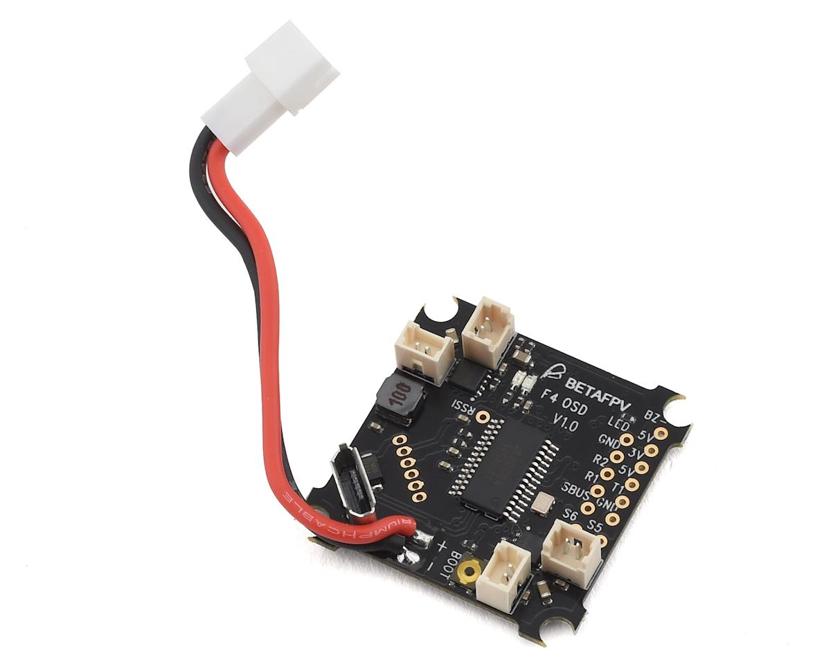 BetaFPV F4 Brushed Flight Controller & OSD (No RX)