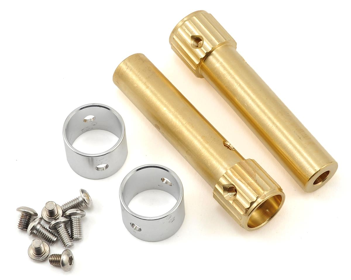 Beef Tubes SCX10 Wide XR Mod Beef Tubes (Brass)